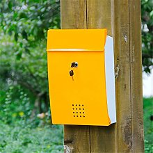 MELLRO Post Boxes Heavy Duty Wall Mount Drop Box
