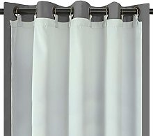 Melodieux Blackout Eyelet Ring Top Curtains