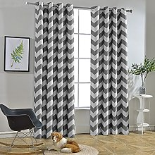 Melodieux Living Room Blackout Curtains Window