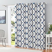 Melodieux Moroccan Patio Curtains for Extra Wide