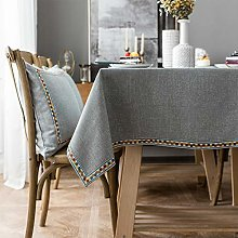 Melodieux Table Cloth Cotton Linen Rectangular