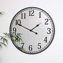 Melody Maison Black Mirrored Wall Clock