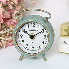 Melody Maison Small Grey Mantel Clock