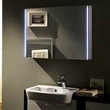 Meloso Bathroom Mirror Cabinet 600mm H x 800mm W -