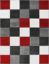 Melrose Daytona Check Rug - 80x150cm - Red