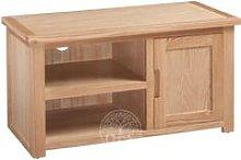 Melrose Oak 1 Door TV Cabinet