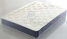 Memory Form Mattress with Quilted Tufted Luxury