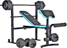 Men's Health Folding Bench & Preacher with