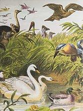 Menagerie - Vintage Unframed Canvas Print, 120 x