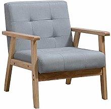 Menaka Living Room Small Sofa Armchairs Button on
