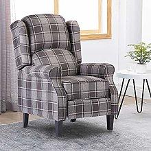 Menaka Retro Living Room Grey Sofa Armchair