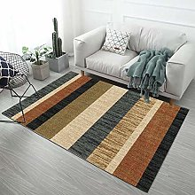 MENEFBS Fluffy Living Room Rug, Indoor Non Slip