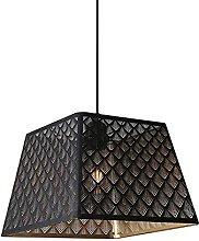 MENG Black Pierced Light, Hanging Lighting Fixture