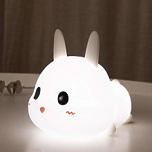 Meng Bunny Silicone Lamp Children's Bedroom