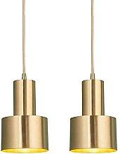 MENG Gold Hanging Lighting Fixture Modern Light
