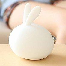 Meng Rabbit Silicone Lamp Night Light Bedside Pat