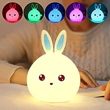Meng Rabbit Silicone Lamp Patting Lamp Bedside Bed