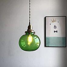 MENG Retro Island Lighting Fixture Pumpkin Light,