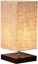 MENG Wood Table Lamp Retro Minimalist Solid Wood