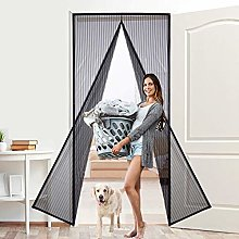 MENGH Fly screens for doors 180x200cm, Magnetic