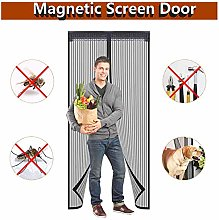 MENGH Magnetic fly insect net screen door Mesh Fly