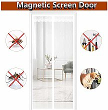 MENGH Magnetic fly insect screen door Mesh Fly