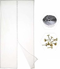 MENGH Magnetic Fly Screen Door, Mesh Fly Curtain,