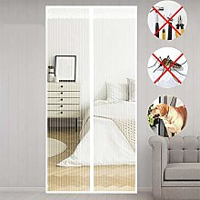MENGH Magnetic insect door screen 175x205 CM Mesh