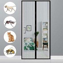 MENGH Magnetic Screen Door 100x245 CM Screen Mesh