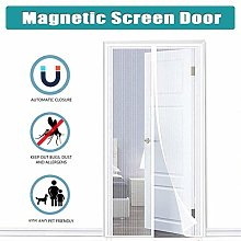 MENGH Magnetic Screen Door Magnetic Fly Insect