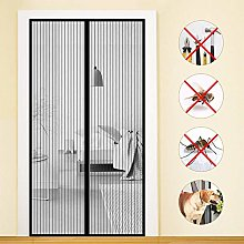 MENGH Mosquito net for doors with magnet 130x240cm