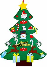 MengH-SHOP Felt Christmas Tree 3.2ft DIY Felt Tree