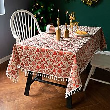 MENGH Table Cover 120x260cm, Grey fabric