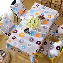MENGH Tablecloth 90x145cm, Table Cloth for Indoor