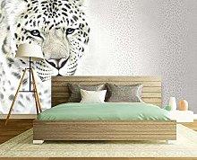 MENGRU Wallpaper 3D Mural Leopard Leopard 3D