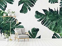 MENGRU Wallpaper 3D Mural Plantain 3D Murals