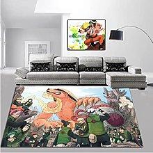 Mengruiwu Naruto Anime Cartoon Carpet Living Room
