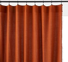 Menorca Linen / Cotton Single Curtain Panel by La