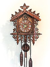 Mentohe Cuckoo Clock,Antique Wooden Cuckoo Wall
