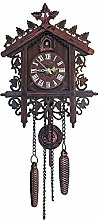 Mentohe Cuckoo Clock,Antique Wooden Cuckoo Wall