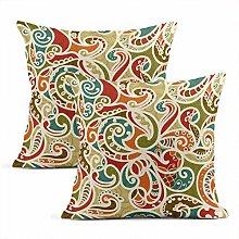 Meowjoy Wave Set 2 Cushion Covers Print Linen