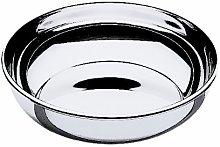 MEPRA 34 cm Gala Round Basket, Silver