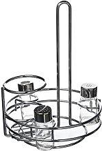 MEPRA Basket for Oil/Vinegar Bottle, Silver