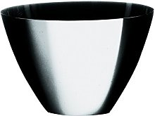 Mepra Stainless Steel Uno Big Round Basket, Silver