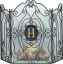 MERCB Hearth 3-Panel Fireplace Screen with Vortex
