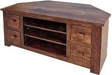 Mercers Furniture Michigan 4-Drawer Corner TV