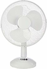 "Mercury | 12"" Oscillating Fan With 3 Speed"