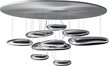 Mercury Ceiling light - Halogen by Artemide Grey