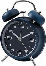 MERIGLARE Metal Alarm Clock Mechanical Analog Wind