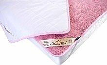 Merino Wool Bedding,NEW PINK mattress topper